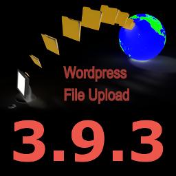 New Version 3.9.3 of WordPress File Upload Plugin