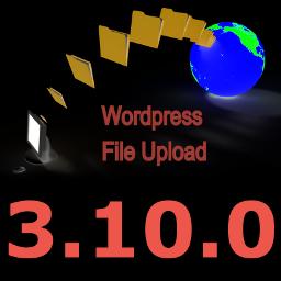New Version 3.10.0 of WordPress File Upload Plugin