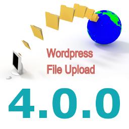 New Major Version 4.0.0 of WordPress File Upload Plugin