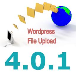 New Version 4.0.1 of WordPress File Upload Plugin