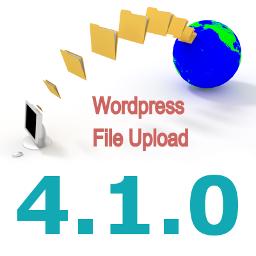 New Version 4.1.0 of WordPress File Upload Plugin