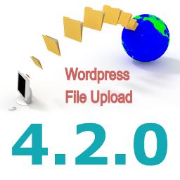 New Version 4.2.0 of WordPress File Upload Plugin